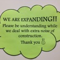 Notice of expansion